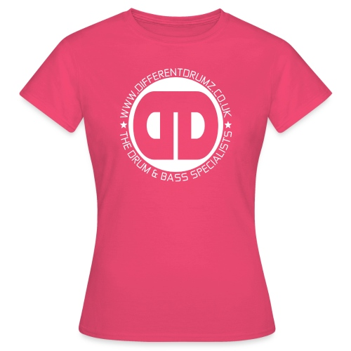 Different Drumz Logo 2020 White V2 - Women's T-Shirt