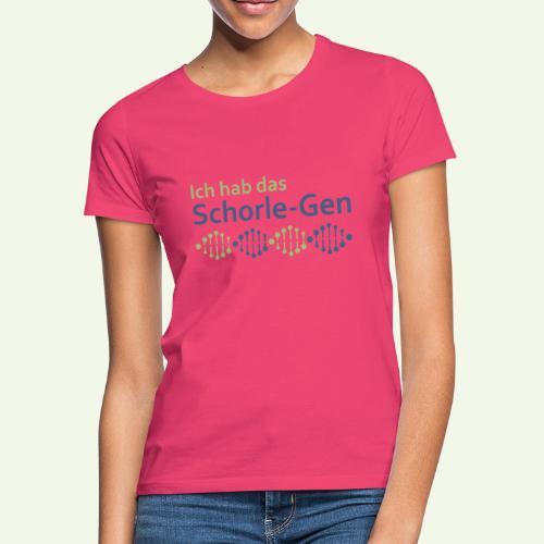 Ich hab das Schorle-Gen - Frauen T-Shirt