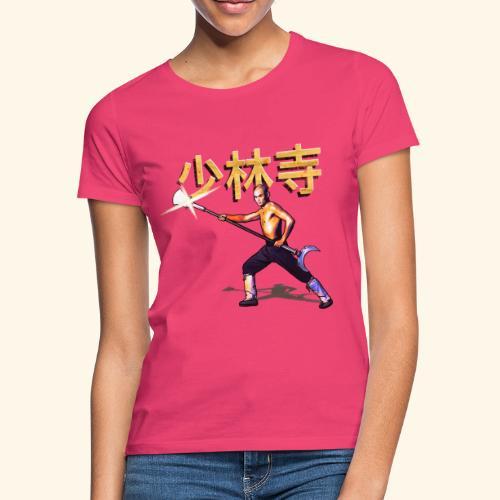 Gordon Liu som San Te - Warrior Monk - Dame-T-shirt