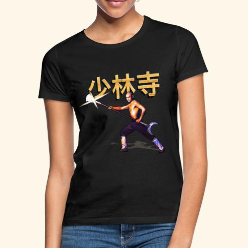 Gordon Liu as San Te - Warrior Monk - Vrouwen T-shirt