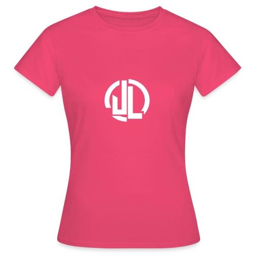 The White JL Logo - Women's T-Shirt
