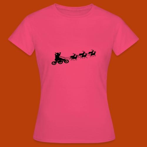 Ho Hoo Weihnachts Rentier Skate - Frauen T-Shirt