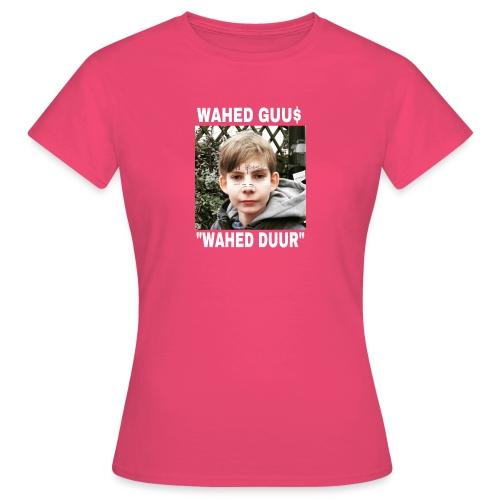 Wahed guu$ merch clitorisknaap - Vrouwen T-shirt
