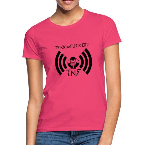 Tekknofuckerz Icon Schwarz - Frauen T-Shirt
