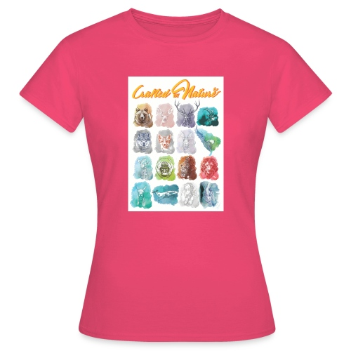 Crafted by Nature - Frauen T-Shirt