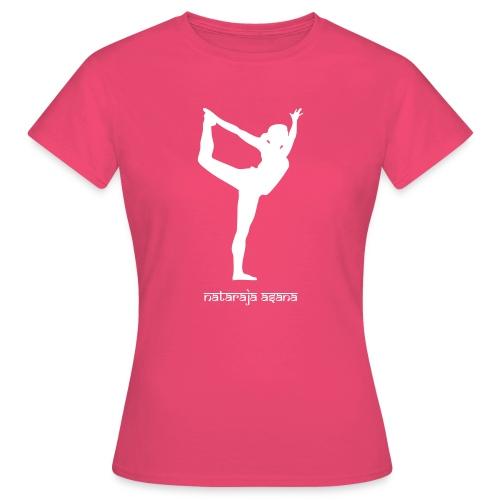 Yoga Nataraja Asana - Frauen T-Shirt