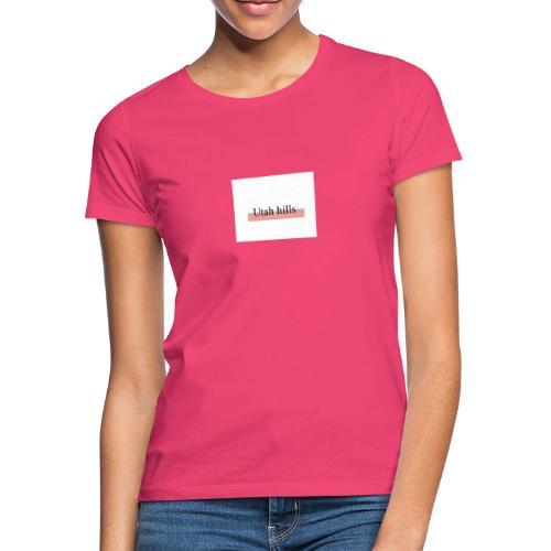 Utah hillss - Dame-T-shirt