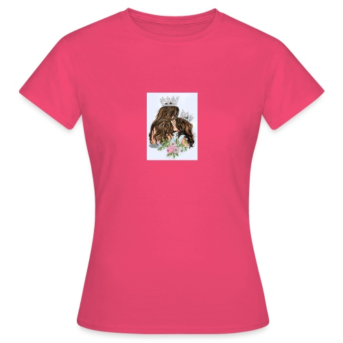 QUEEN AND PRINCESS - Camiseta mujer