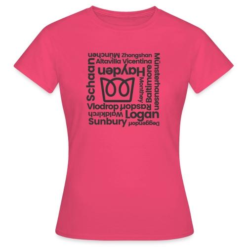 Manufacturer Roll Call - Women's T-Shirt