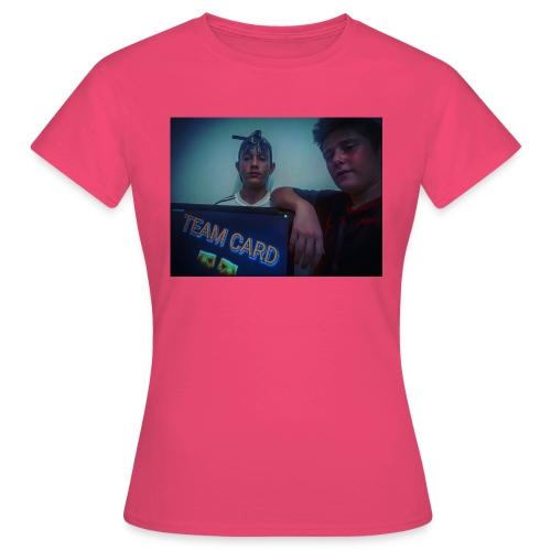 team-cardx09 - Frauen T-Shirt