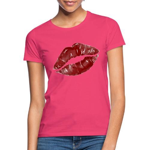Lips - Dame-T-shirt