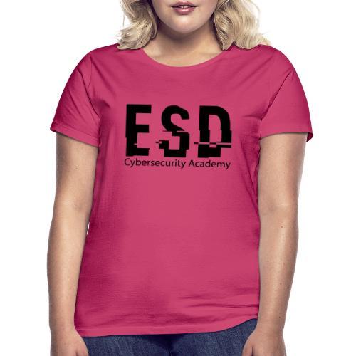 Design ESD Cybersecurity Academy - T-shirt Femme