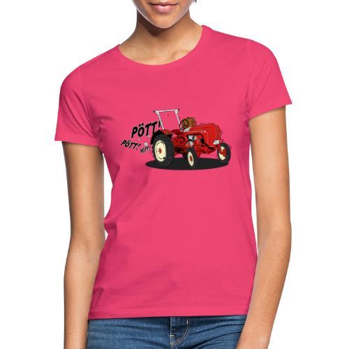 Brunhilde pött pött - Frauen T-Shirt