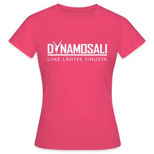 DynamoSali valkoinen - Naisten t-paita