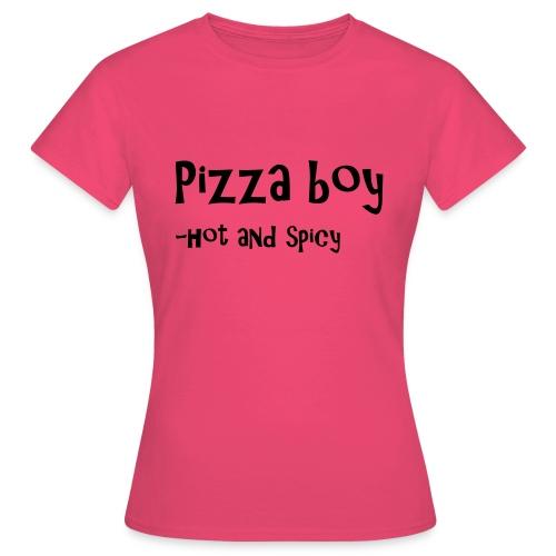 Pizza boy - T-skjorte for kvinner