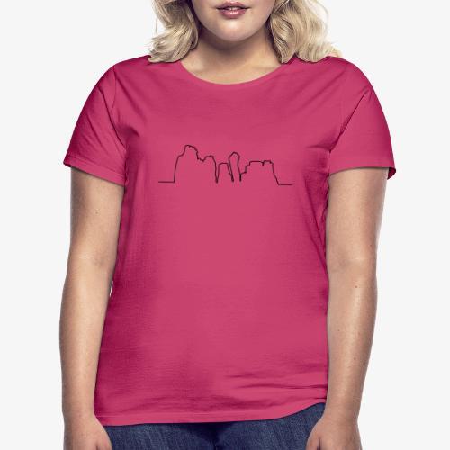 Kontur der Externsteine - Frauen T-Shirt