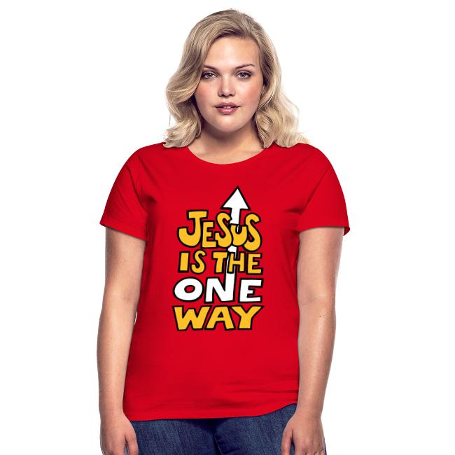JESUS IS THE ONE WAY