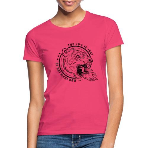 FIRE BREATHING BEAR - T-shirt dam