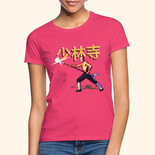 Gordon Liu som San Te - Warrior Monk - Dame-T-shirt