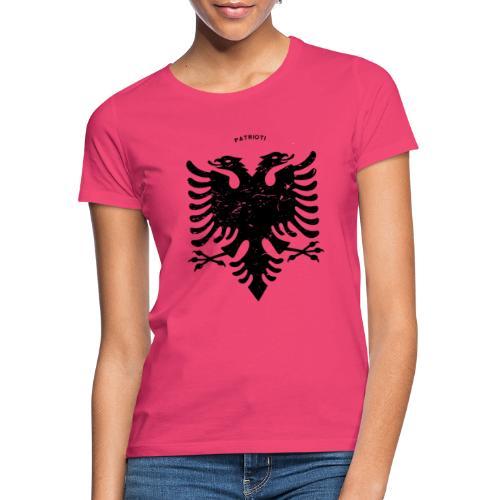 Albanischer Adler im Vintage Look - Patrioti - Frauen T-Shirt