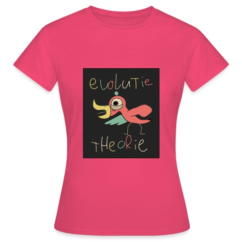 Evolutie theorie - Vrouwen T-shirt