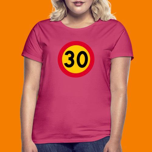 30 skylt - T-shirt dam