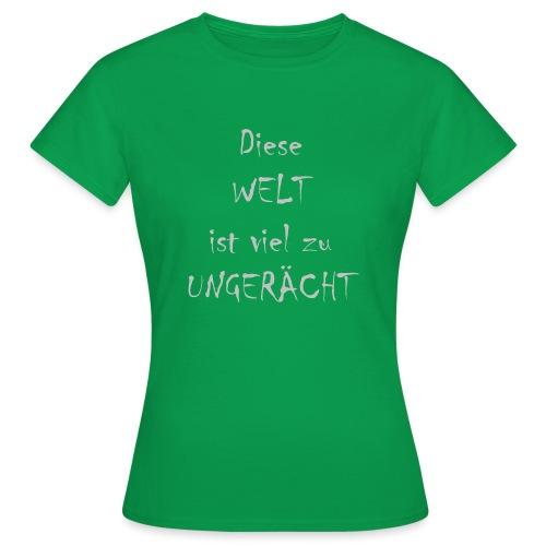 WORTKunstwort 21.3 - Frauen T-Shirt
