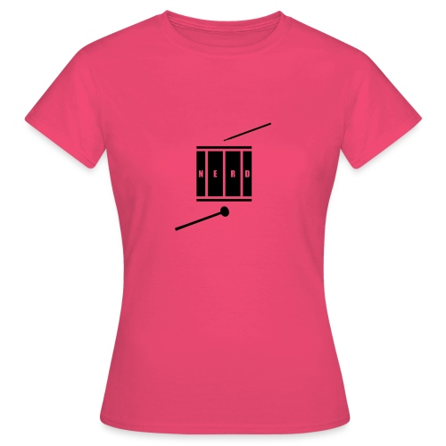 Nerd_Logo Black - Dame-T-shirt