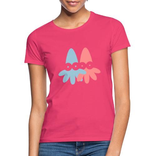 2 Squids Vector - choose design colours - Women's T-Shirt