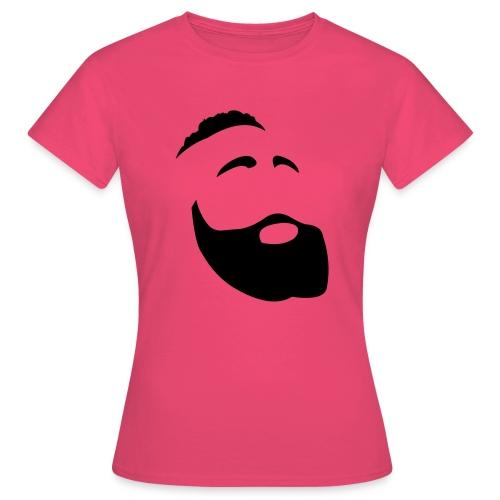 Il Barba, the Beard black - Maglietta da donna