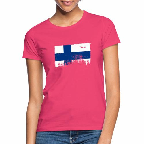 Suomen lippu, Finnish flag T-shirts 151 Products - Naisten t-paita