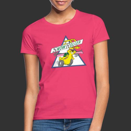 SnowRoller logo - T-shirt dam