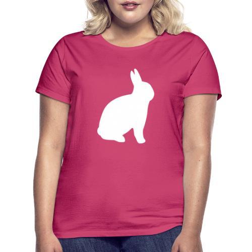 T-shirt personnalisable avec votre texte (lapin) - T-shirt Femme
