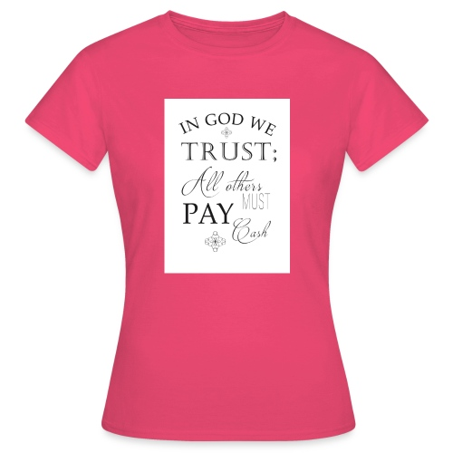Amen - Women's T-Shirt