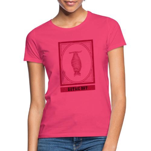 Gothic hanging bat - hangende vleermuis - Vrouwen T-shirt