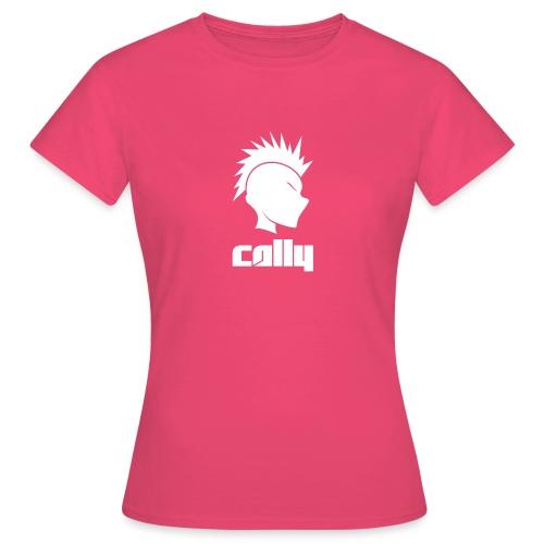 Cally Mohawk & Text Logo - Women's T-Shirt