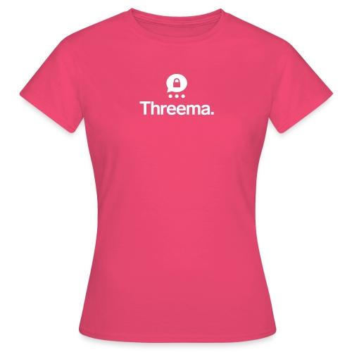 Logo mit Icon - Frauen T-Shirt