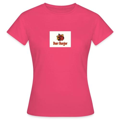 hambuger - T-shirt Femme