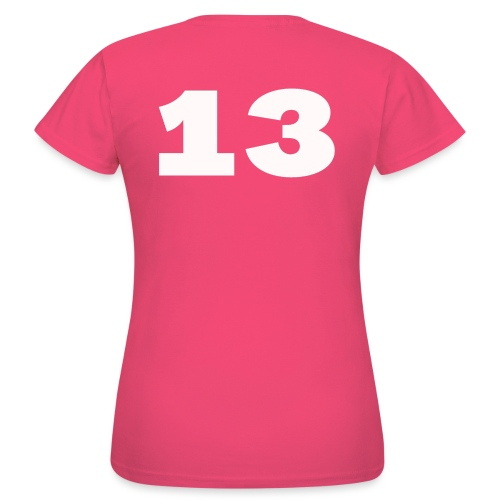 Getal 13 - Vrouwen T-shirt