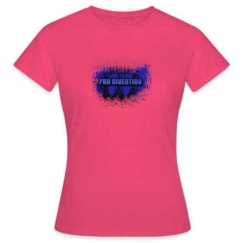Pro Divertido logo mixto - Camiseta mujer