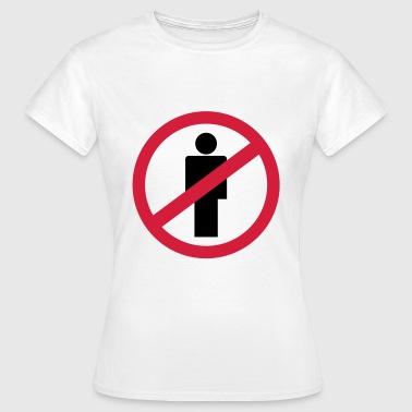 ei ihmisen - Naisten t-paita
