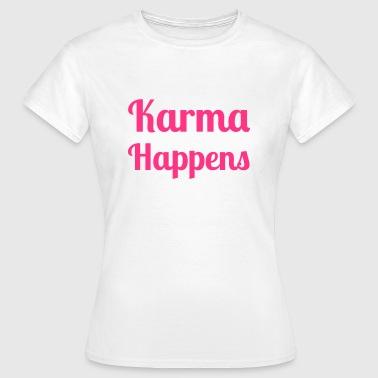 Karma - Naisten t-paita