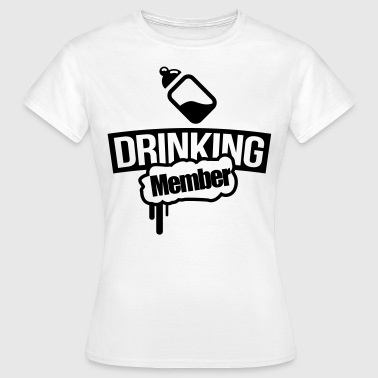 Państwa picia butelka mleka - Koszulka damska
