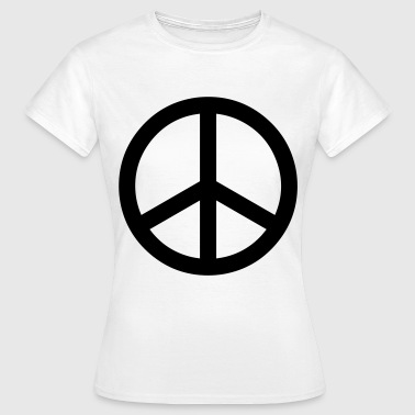 peace sign hippie - Vrouwen T-shirt