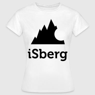 Isberg - Iceberg - T-shirt dam