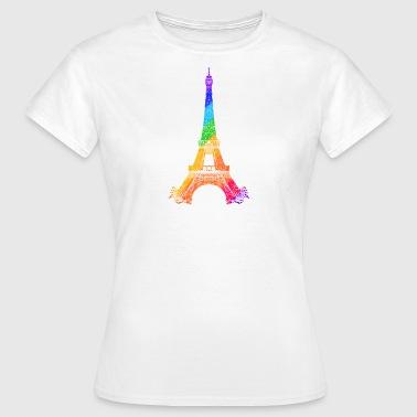Eiffel tower - Koszulka damska