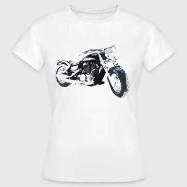 Motorsyklist - T-skjorte for kvinner