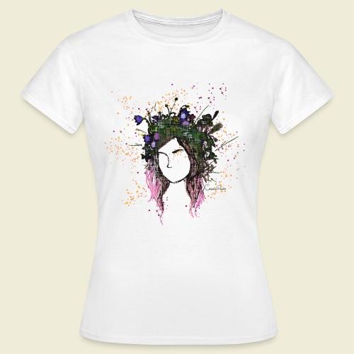 flower crown - Women's T-Shirt