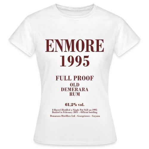 Enmore Label Velier Demerara Designs - Dame-T-shirt
