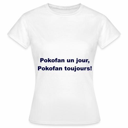 Pokofan - T-shirt Femme